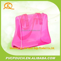 Manufacturers china custom pvc clear lady bag wholesale