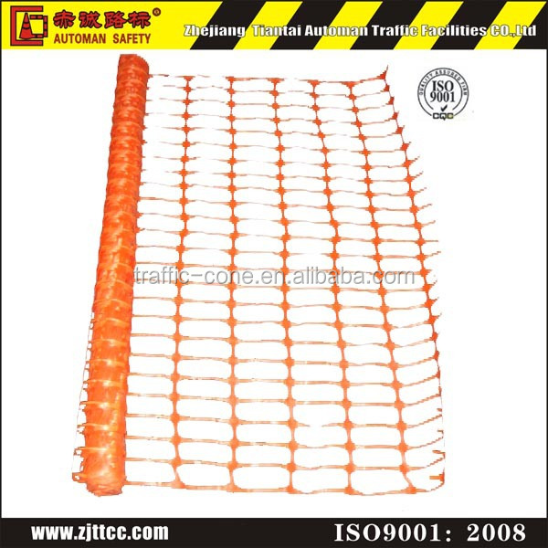 plastic mesh safety esafety orange construction security fencing construction site temporary fence panels