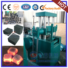 Low Consumption Shisha Cubic Tablet Making Machine Barbecue Charcoal Briquette Machine