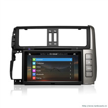 Toyota Prado Android 4.2.2 WIFI 3G A9 chipset with dual core Car DVD player winca car dvd