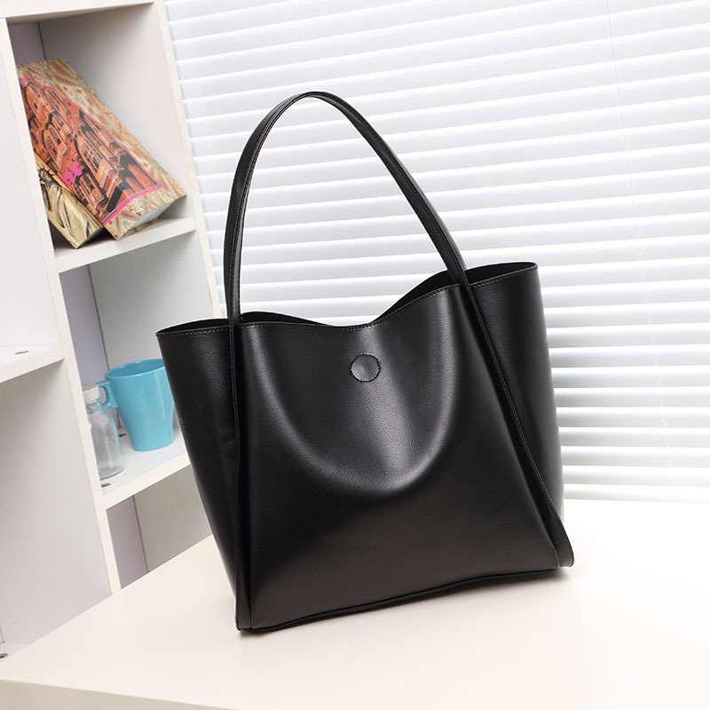 2017 Hot Sale Plastic genuine leather handbag made in China
