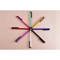 Mini stylus pen for Capacitive screen touch pen with clip for iphone 4 5 mini iPad iPod samsung Smart Android