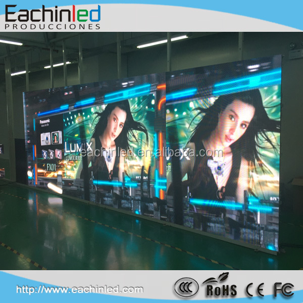 HD Full color Indoor LED TV panel P2 P2.5 P3 P4 led video wall display