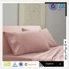 100% Cotton Plain Luxury Bedding Set for hotel or home