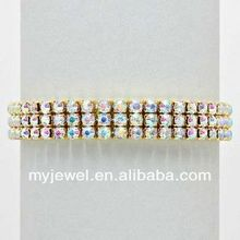Concise superb CCB portabe chains bracelet ( rose gold ) rhinestone bow bracelet