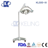 (KL500-III) Mobile Stand Battery AC/DC Emergency Medical Operating Room Lamp