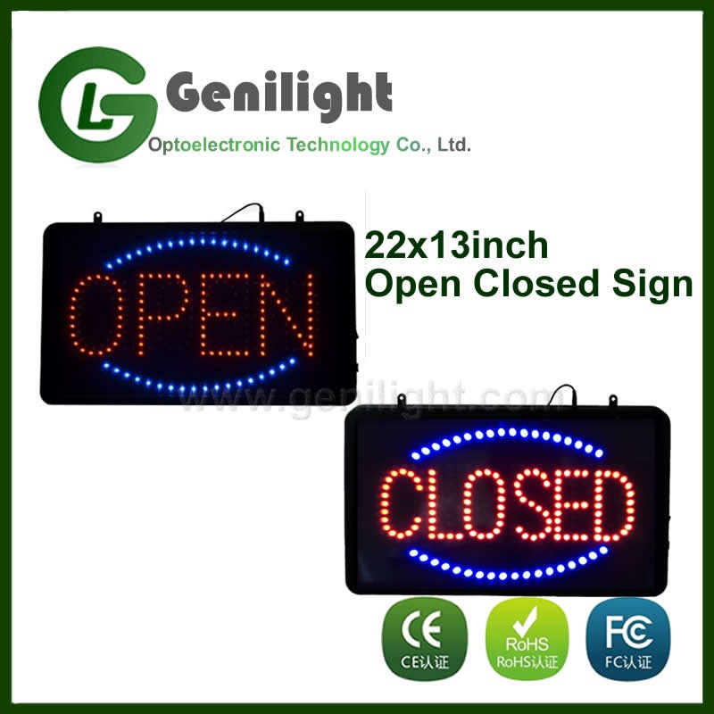 Wholesale High Quality LED Open Closed Sign