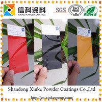 photoluminescent powder pigment paint coating