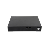 Customized i5 4200U Four Thread 1.6-2.6 with Plastic Chassis Metal Case 4*USB2.0 Latest Desktop Mini PC