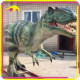KANO2041 Customized Rubber Allosaurus Life-Size Dinosaur Models For Sale