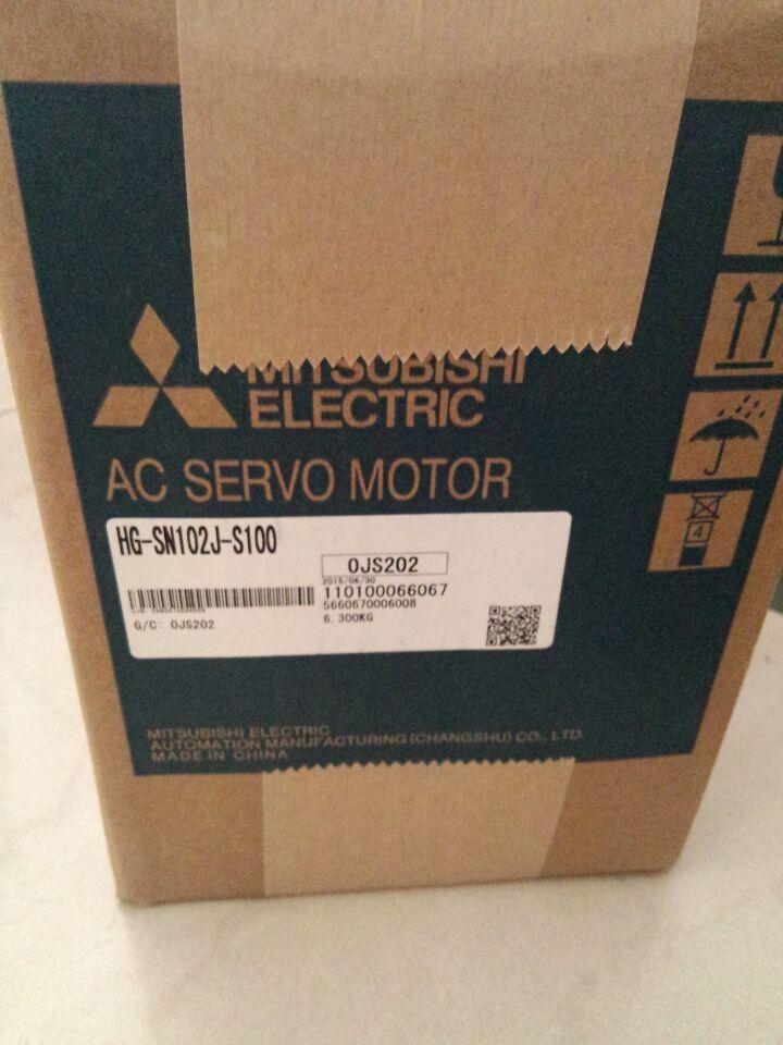 High Frequency Mitsubishi Ac Servo Motor Hg Sn102j S100