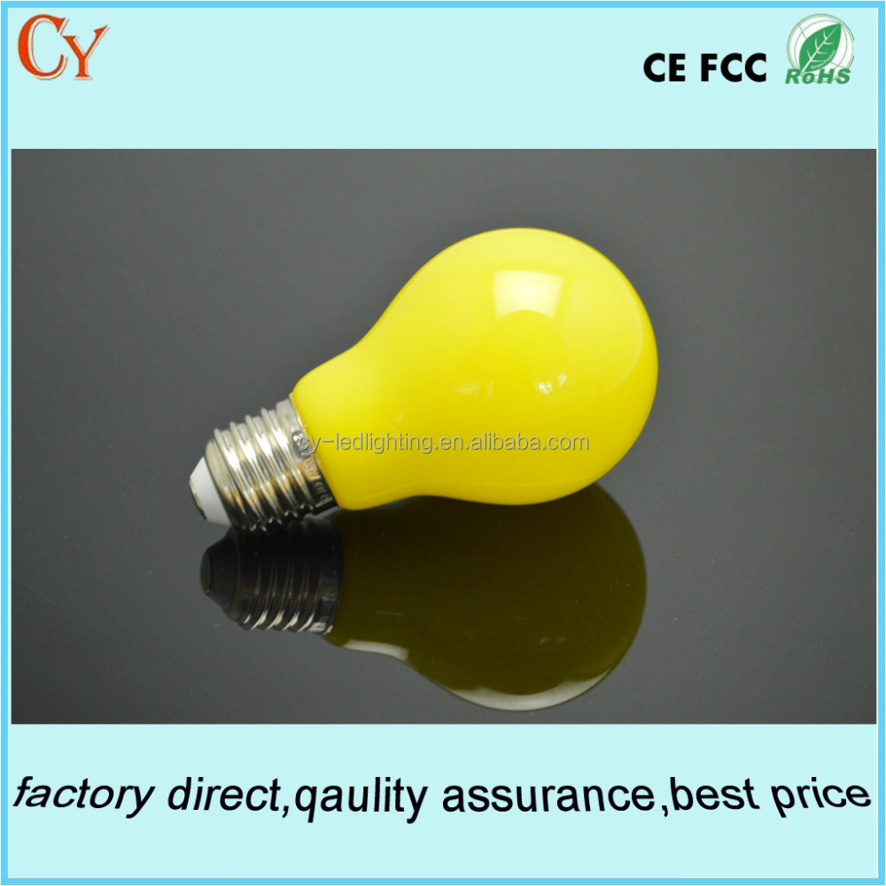 A19 Hot Sale Promotion RGB decorated LED bulbs E26E27
