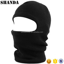 Knit Sew Acrylic Outdoor Thermal disposable full face mask custom half face ski mask