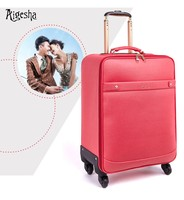OEM all-size PU luggage with bags