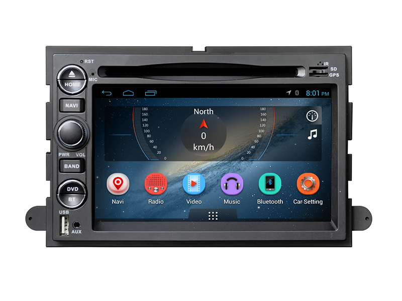 7 inch android car dvd player with 3G Wifi and Mirror Link GPS for Ford Fusion