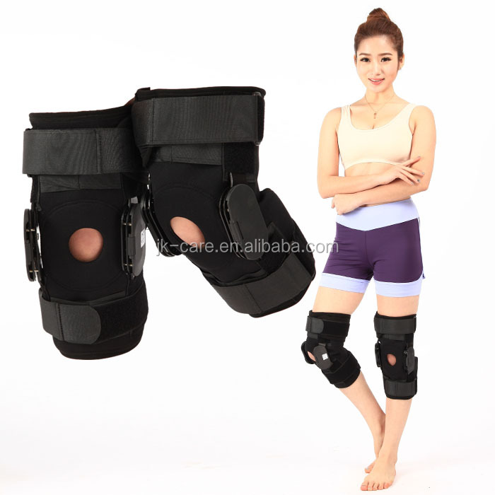 Medical knee support / orthopedic hinge knee support Knee protector/ neoprene leg knee brace hinged knee brace