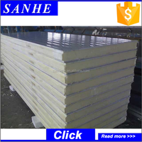 High quality wall Sandwich panel of poliuretan PU sandwich Panel