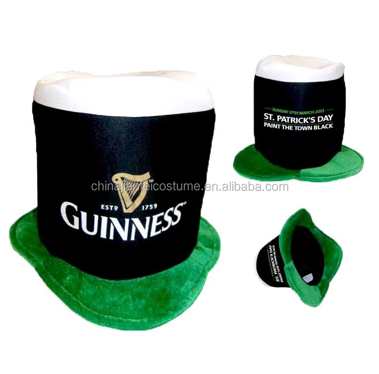 St'Patrick Guinness hat, hot selling hat for St'Patrick day