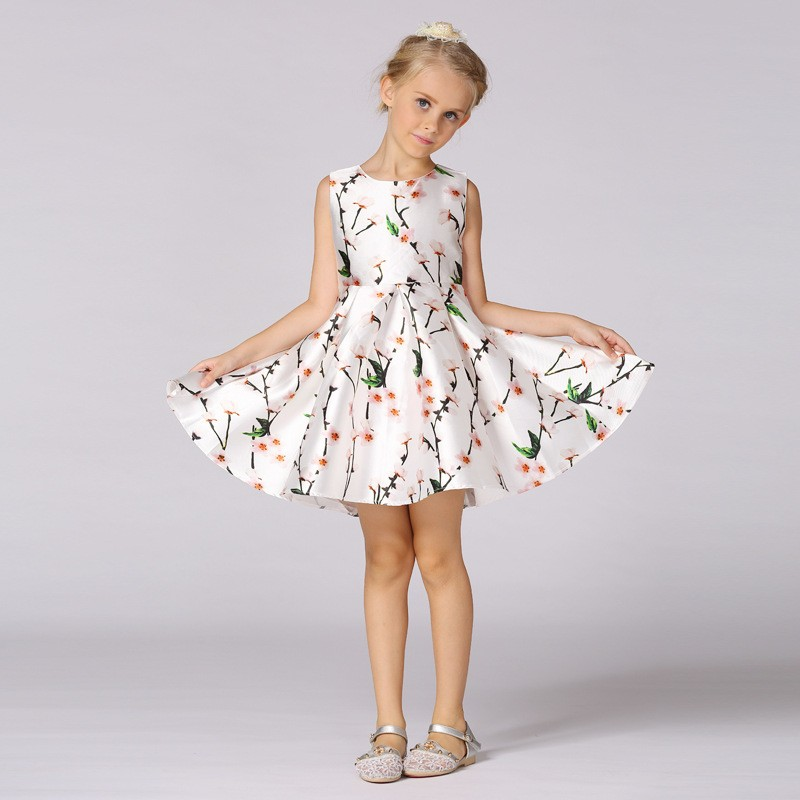 New Style Summer Baby Lace Embroidered Girls Good Quality Wedding Party Dress Wholesale