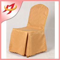 Polyester high quality jacquard material to make chair covers