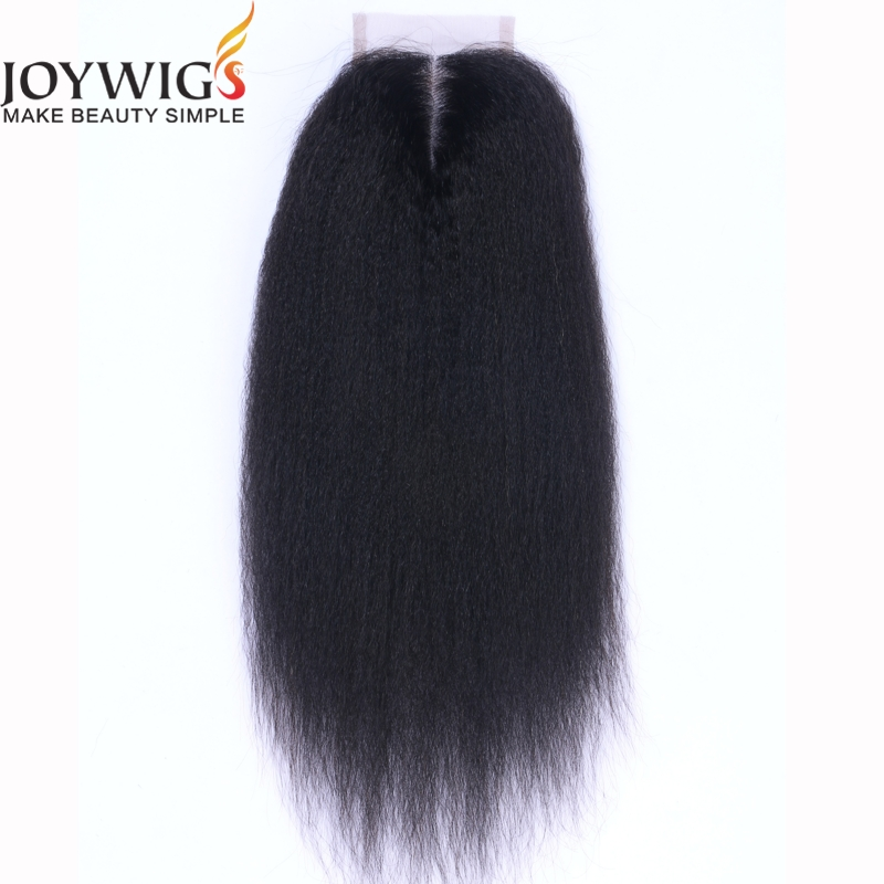8a Afro Kinky Straight Coarse Yaki Human Hair <strong>Weave</strong> with Closure Italian Light Yaki Hair Bundles with Lace Closures