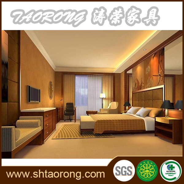 Custom made commercial luxury 5 star hotel the bedrooms furniture