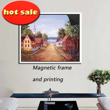 magnetic photo frame & print magnetic painting picture 1013-114