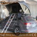 Open In One Side Manually Overland Roof Top Tents With One Ladder