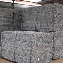 High quality galvanized steel woven stucco hexagonal wire mesh wire twisted weave hexagonal gabion