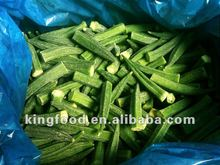 Frozen okra lady fingers