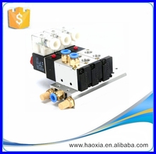 HAOXIA Low Price 5/2way Pneumatic Electric Solenoid Control Valve 4V210-08