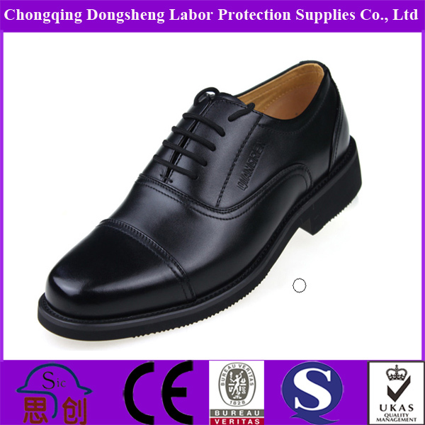 Genuine leather top-grade officer police shoes military shoes