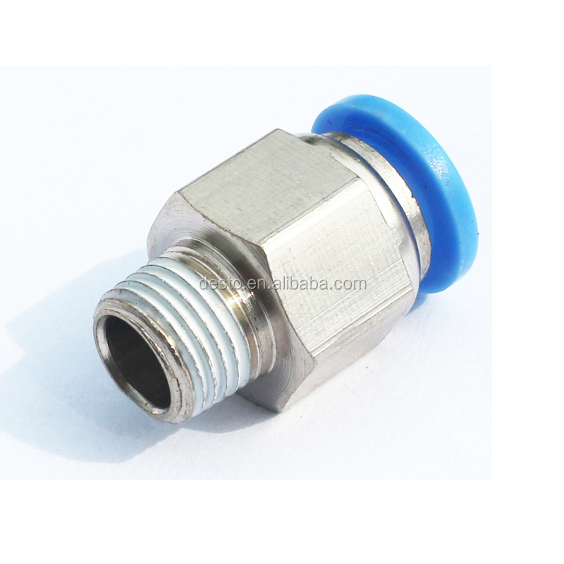 Smc clean type white color pneumatic brass cylinder