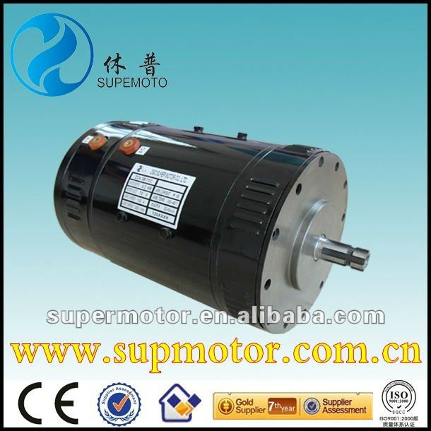11kw 144v Series wound DC Traction Motor