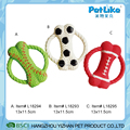 Bone Shape Latex Pet Dog Toy ,High Quality Soft Dog Pet Toys Soft Frisbee Made Of Latex
