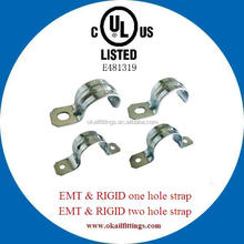 UL listed Electrical conduit strap for EMT and RIGID conduit