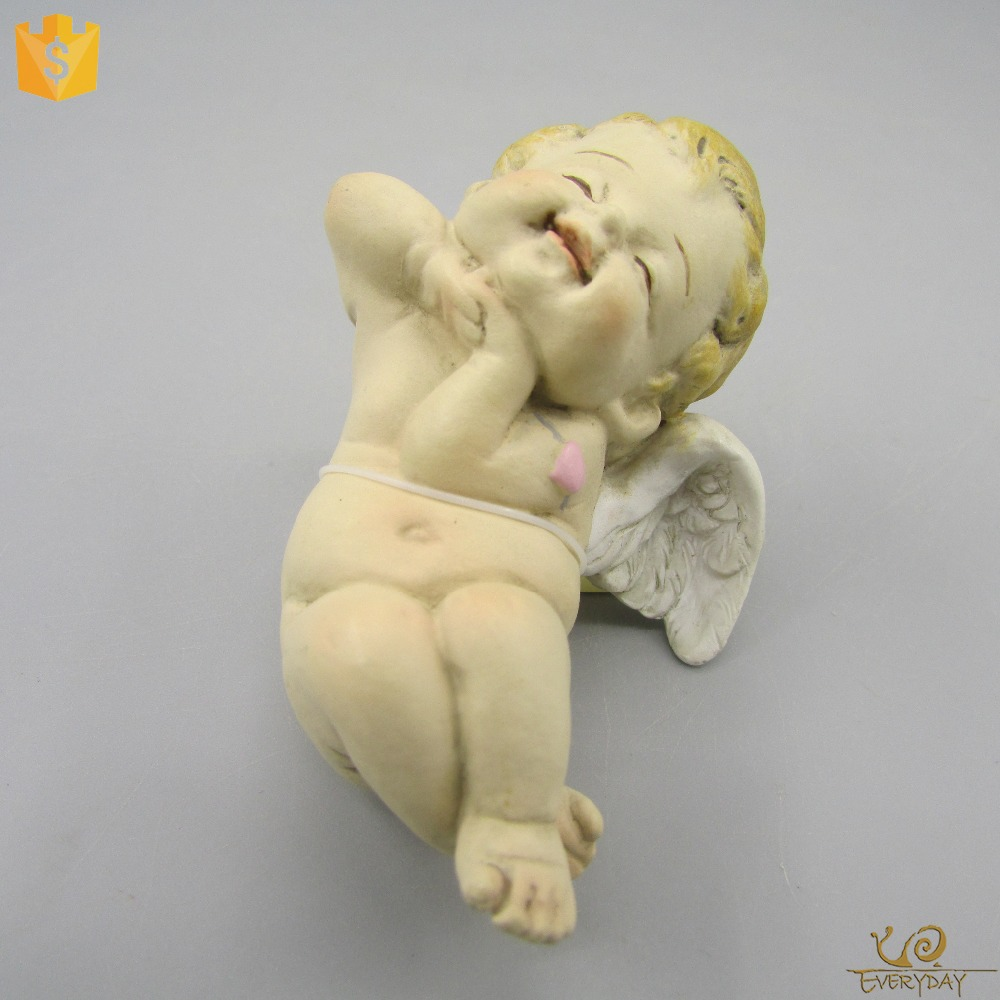 Custom Carving Resin Craft Ornament Gift Angel Figurines for Thanksgiving Day