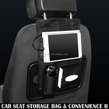 Car Seat Back Storage Bag backseart Organizer Pocket with USB Charger Apple iPhone iPad sumsang Huawei MI HTC LG MI OPPO