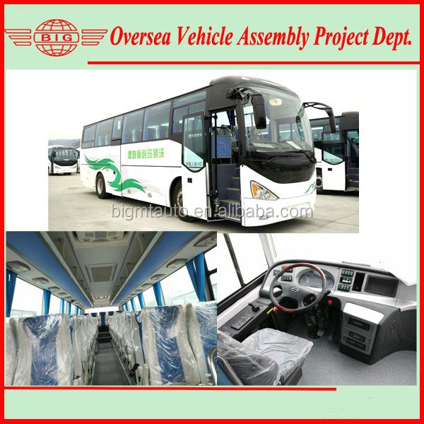 6112 model tourist bus 11m long electric tourist bus coach for sightseeing and touring