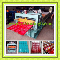 Automatic color steel roof tile roll forming making machine for house and workshop