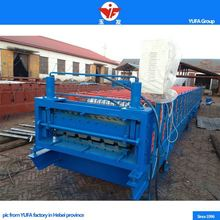 Automatic top quality metal stud and track double layer roller former making machines