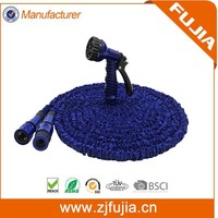 Best products stretch hose/magic flexible Garden Hose with plastic connector for irrigation