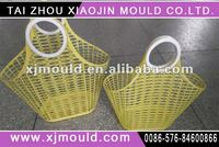 Custom made supermarket basket injection molding/moulds industry