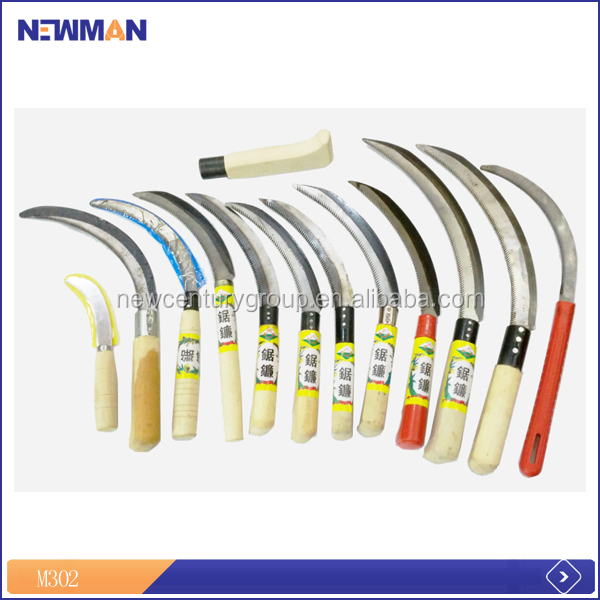 safety folding hand sickle