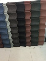 best selling factory wholesale sand stone covered concrete roof tile