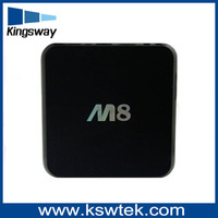 Hot selling Amlogic S802 quad core android lcd tv box