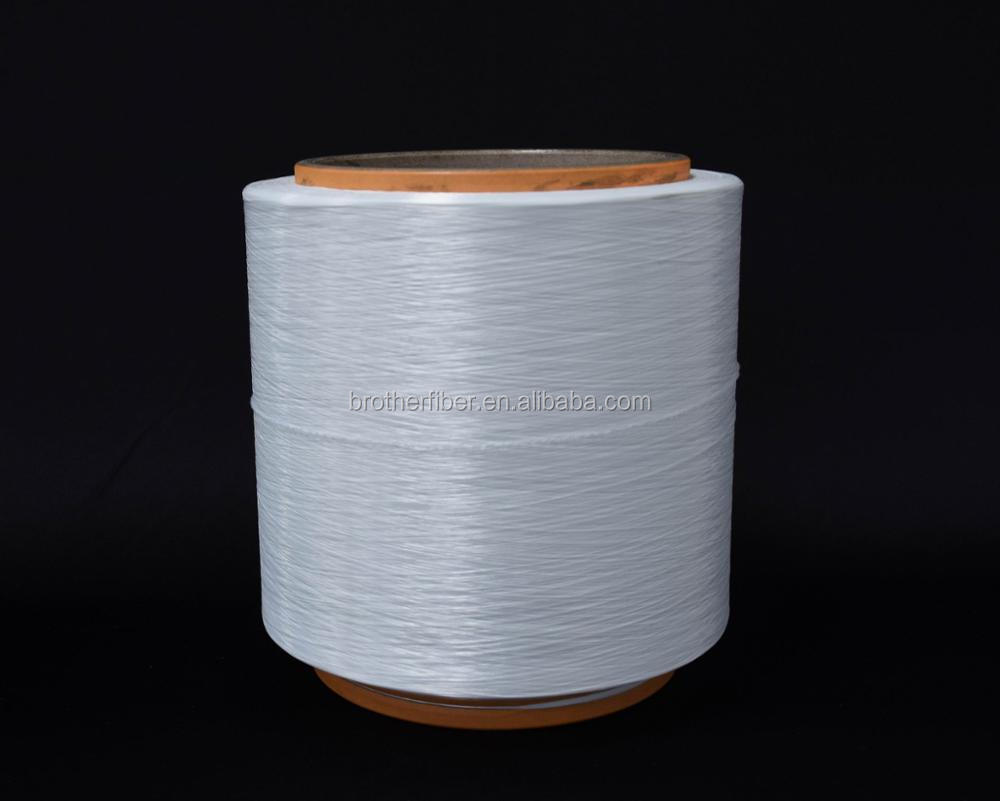 high tenacity 50D/32F raw white textured polyester stretch yarn