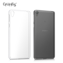 For Sony Xperia E5 Case, Crystal TPU Silicone Phone Case Transparent Clear Protective Case for Sony Xperia E5