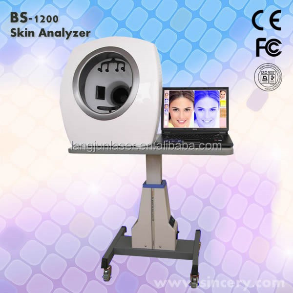 3D Facial Portable Health and beauty face analysis machine/face analyzer WITH face camera