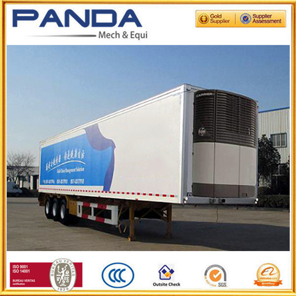 Manufacturer 40ft reefer container, freezer box trailer, refrigerated trailer for sale